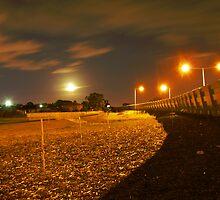 midnight freeway by mick8585
