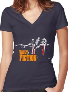Vault Fiction Women's Fitted V-Neck T-Shirt