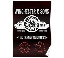 Winchester And Sons - Hell Version Poster