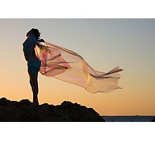 Sunset Princess Photographic Print