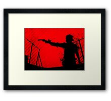 The Walking Dead - Rick Framed Print