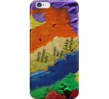 Alberta Canada abstract collage iPhone Case/Skin