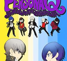 Persona Q Poster by BensterTech