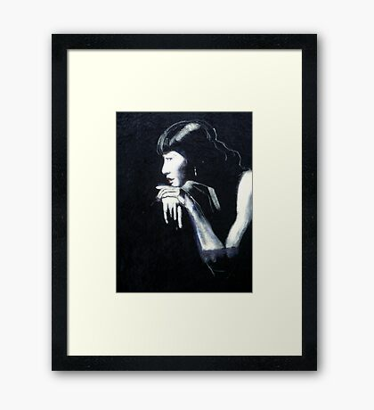 Anna May Wong Framed Print