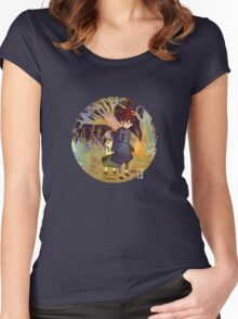 Over the garden wall Women's Fitted Scoop T-Shirt