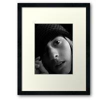 Withdrawing Framed Print