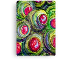 Olives in a Jar Canvas Print