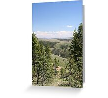 Sonora Pass Greeting Card