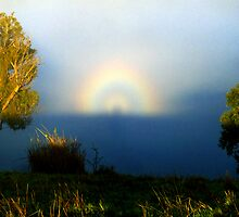 Brocken Spectre and Glory by Ern Mainka