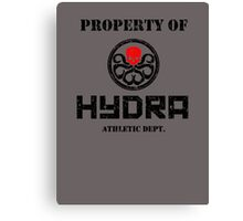 Hydra Athletic Dept. Canvas Print