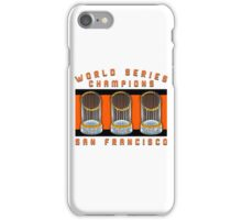 World Series Champions  iPhone Case/Skin