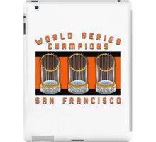World Series Champions  iPad Case/Skin