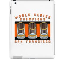 World Series Champions  iPad Case/Skin