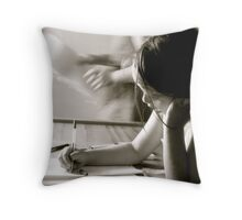 School Time Throw Pillow