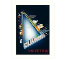 Inception Timeline Art Print