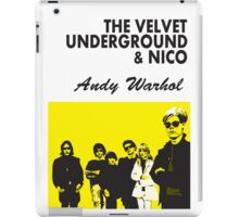 The Velvet Underground/Andy Warhol iPad Case/Skin