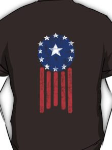 Old World America Flag T-Shirt