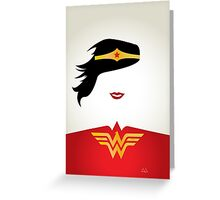 Wonder Woman Greeting Card