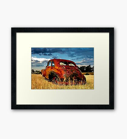 """The Chev"" Framed Print"