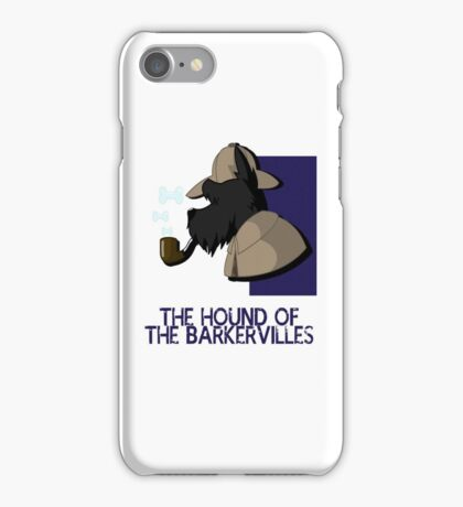 THE HOUND OF THE BARKERVILLES iPhone Case/Skin