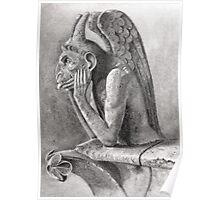 Notre Dame Gargoyle 1 Poster