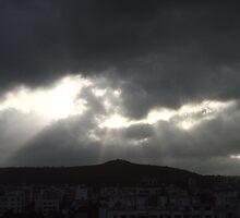 cloud burst by Yogesh Sane