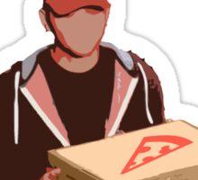 Pizza Hero Sticker