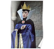 Disney Snow White Evil Queen Disney Villain Snow White 7 Dwarfs Poster