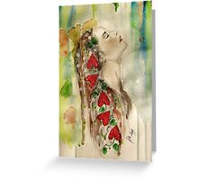 """Breathe me in"" Greeting Card"