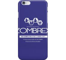 ZOMBREX Ad iPhone Case/Skin