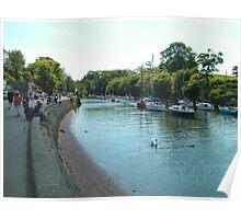 River Almond at Cramond Poster