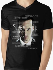 Moriarty's Cell  Mens V-Neck T-Shirt