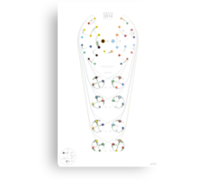 2014 FIFA World Cup Chart Metal Print