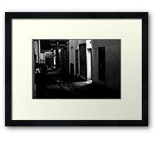 Smoko Framed Print