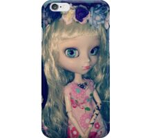 Cachou-Gwendolynn and her fairy crown of nature iPhone Case/Skin