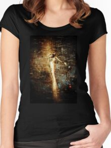 Rising Angel (updated) Women's Fitted Scoop T-Shirt