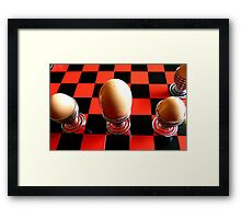 Checkers or Chess! NZ - Southland Framed Print