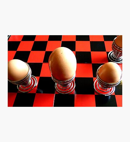 Checkers or Chess! NZ - Southland Photographic Print