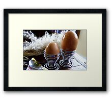 Large or Small - Eggs - NZ - Southland  Framed Print