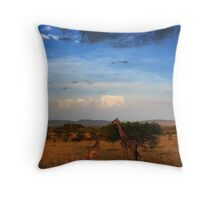 Serengeti, Tanzania Throw Pillow