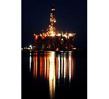 Portland Oil Rig Photographic Print