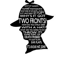 Sherlock's Hat Rant - Light Photographic Print