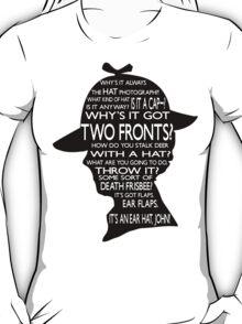 Sherlock's Hat Rant - Light T-Shirt