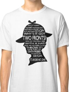Sherlock's Hat Rant - Light Classic T-Shirt