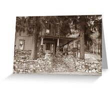 Stone Welcome Greeting Card
