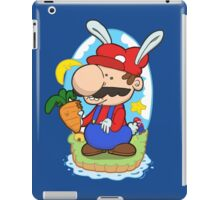 Bunny power! iPad Case/Skin