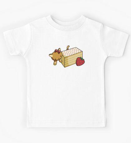 Mille Feuille Kitty Kids Tee
