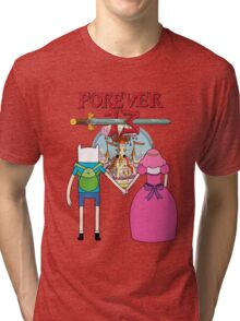 Forever 13 - Adventure Time Tri-blend T-Shirt