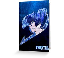 Fairy Tail Ice Greeting Card