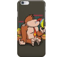 That's not how you eat a banana! iPhone Case/Skin
